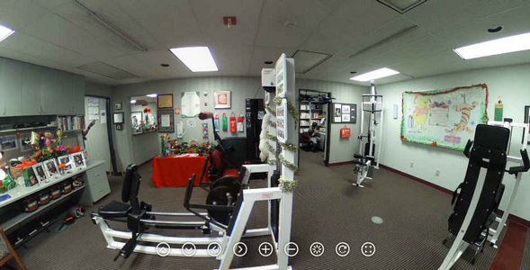Check out this great 360 Degree Panorama of our Hi-Lo Gym at Christmas!