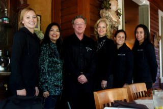 Syliva and Lora join Sierra, Dr Christian, Elena and Eli at Aldo's for Lunch in November this year.