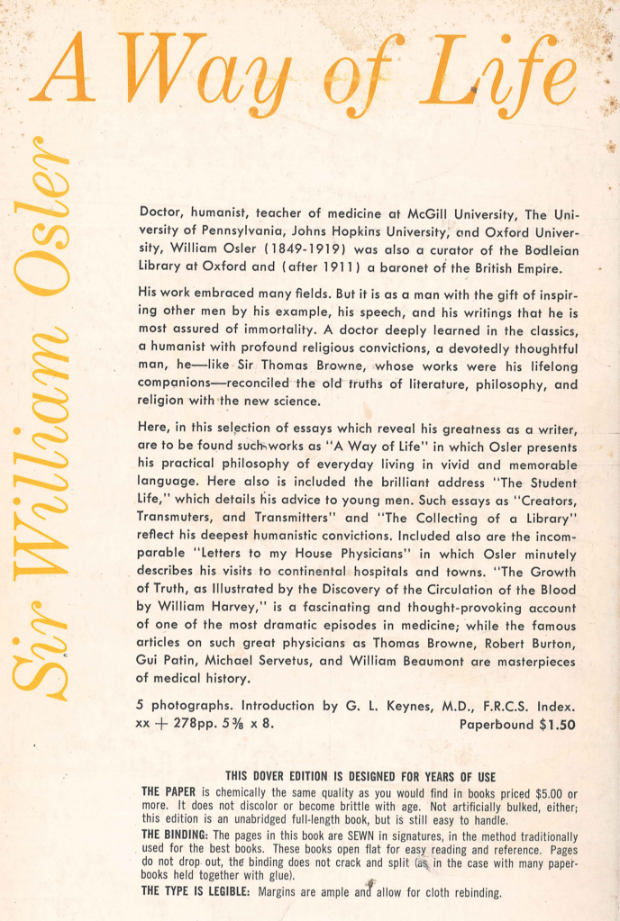 william osler medal essay American association for the history of medicine osler medal essay contest purpose: the william osler medal is awarded annually for the best unpublished essay on a medical historical topic written by a student enrolled in a school of medicine or osteopathy in the united states or canada.