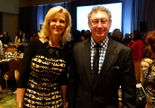 Dr. Christian with Inside Outside Client Lora Watts who is on the CTRC Council!
