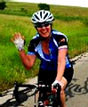 Inside Outside sponsors our own Julie Kenfield in the bike MS event!