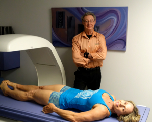 Monica Brant gets her DXA Body Composition Testing at Inside Outside.