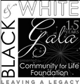 Community for LIfe Foundation Black & White Gala!