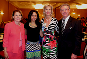 Louise Mandel and Lora Watts invited Dr. Christian and Eli to the luncheon!