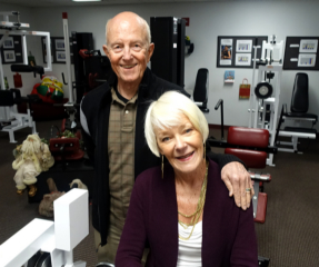 We Salute long time Inside Outside Clients Doug and Katherine McCall.