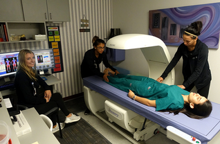 The Discovery A DXA Scanner. Best in San Antonio! Now measuring Visceral Adipose Tissue!