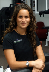 Elena Camargo, 2013 Fall Kinesiology Intern.