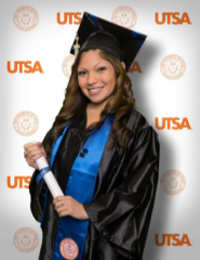 Congrats to Emily Perez on earning a B.S. in Kinesiology at UTSA!