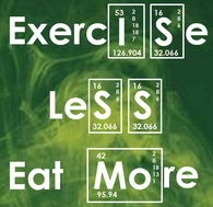 "Yes! Exercise Less and Eat More with the"" Whole New You Program!"""