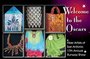 Silent Auction for scholarships for fiber art students!  Check out this amazing art!