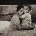 Inside outside Sponsored Single Mother and Son, Faces of Hope Photograph, by Marie Langmore! This will be on display on the campus of Haven for Hope.