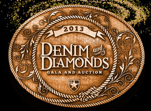 Items for Silent Auction of the Denim & Diamonds Gala benefiting Achievers' Center for Education!