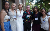Eli, Sierra, Lora Watts, Dr. Christian, Sara and Elena attend Impact San Antonio Summer 2013 Soiree!