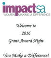 Inside Outside is a Sponsor and Grant Contributor of Impact SA. See our Facebook album for Impact SA Grant Award Night 2016!