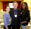 Victoria and Laura with Dr. Christian!!