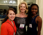 Interns Victoria and Laura with Lora Watts at the Impact SA event!