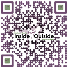 Custom made QR Code for our Main Website!