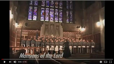 Beautiful Tribute Hymn by West Point Glee Club!