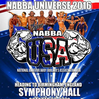 Monica was selected to be part of the NABBA USA Team at the NAABA Universe Competition!