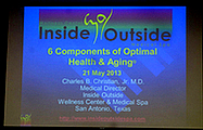 Topic: 6 Components of Optimal Health & Aging!