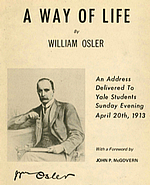 "Osler explains his thoughts on living life in ""day-tight compartments"""