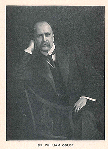 Most of the editions have a portrait of Osler in various poses.