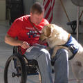 End of year donation to Patriot Paws who trains service dogs for PTSD affected veterans!