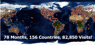 156 Countries, They Love Us!