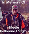 In Memory of Nicole, Granddaughter of Inside Outside client  B.A. Nicholas