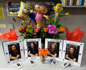 SpongeBob, Earnie and Lora welcome our Interns!