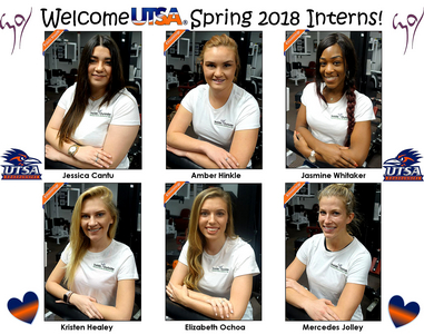 Nice Collage of our Spring 2018 UTSA Interns!