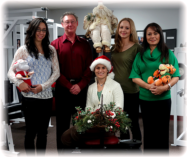 Dr. Christian and Staff, Christmas 2013!