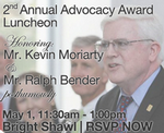 Dr. Christian represented Inside Outside at this event honoring Ralph Bender, long time Inside Outside client and friend!