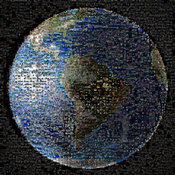 Amazing High Resolution Mozaic to zoom in and view millons of earthlings participating in this event!
