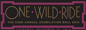 Inside Outside donated silent auction items for the Zoobilation Ball 2014!